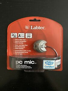 Labtec PC Mic 333 - Speech Recognition/ Gaming/ Voice & Video Chat - NEW