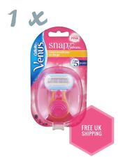 Gillette Venus Snap Womens Portable Razor Embrace Smooth On-the-Go pink Ladies