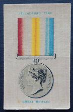 JELLALABAD 1842 War Medals issued 1911 Wills Australia SILK