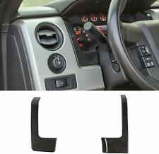 Carbon Fiber Dash Cover Dashboard Decor Trim Accessories for Ford F150 2009-2014