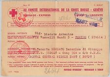 Red Cross Postal History European Stamps