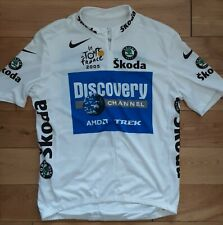Nike Le Tarde de France 2005 Discovery Channel Men's Cycling Jersey Top XL Rare.