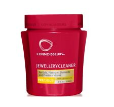 Connoisseurs gold Jewellery cleaner polish dip With Tray and Brush 250ml