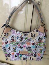 Nwt Dooney & Bourke Disney Nylon Sketch Champsac Purse Shoulder Bag
