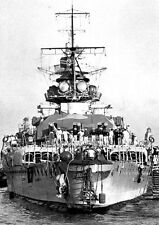 18 PHOTOS GRAF SPEE & BATTLE OF THE RIVER PLATE- ROYAL NAVY EXETER ACHILLES AJAX