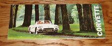 1960 Chevrolet Corvette Foldout Sales Brochure 60 Chevy