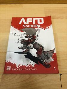 AFRO SAMURAI 1 Manga Volume TAKASHI OKAZAKI ENGLISH RARE OOP