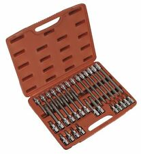 SEALEY TOOLS TORX Star Socket Bit Set 32 pce 1/2 Drive T20 > T70