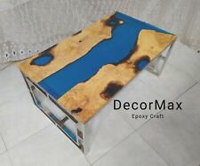 River Coffee Table/epoxy Resin Coffee Table