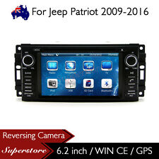 "6.2"" Car DVD GPS Navigation Head Unit Stereo Radio For Jeep Patriot 2009-2016"