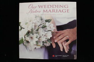 """2004 Canada. 7 Coin Uncirculated RCM Set. """"Our Wedding"""". Mint Sealed."""