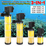 3in1 Internal Filter Oxygen Submersible Water Pump Fish Tank Aquarium Powerhead
