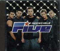 Five - Invincible Con Sticker Cd Sigillato