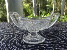 Art Deco Antique Original Clear Depression Glass