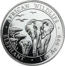 Münzen mit Tiere- & WWF-Motiven aus Somalia