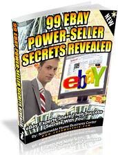 99 EBAY POWER-SELLER SECRETS REVEALED PDF EBOOK FREE SHIPPING RESALE RIGHTS