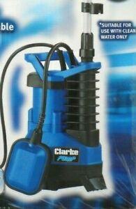 CLARKE WATER BUTT SUBMERSIBLE PUMP FOR GARDEN IRRIGATION CWBP300