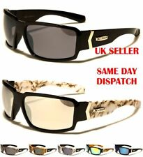 Sport XLOOP Mens Womens Boys Rectangle Wrap Mirror Sunglasses 100%UV400 2508