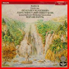 """MAHLER DES KNABEN WUNDERHORN NORMAN SHIRLEY-QUIRK BERNHARD HAITINK 12"""" LP (B841)"""