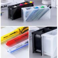 Newest Desk Pen Organizer Holder Caddy Office Pencil Mesh Desktop Storage 2019