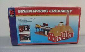Life-Like Trains HO Scale Building Kits - Green Spring Creamery NIB