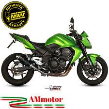 Mivv Kawasaki Z 750 07 - 2014 Terminale Di Scarico Moto Marmitta Gp Black