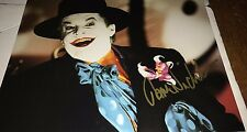 Jack Nicholson The Joker Batman Hand Signed 11x14 Autographed Photo COA Look JN
