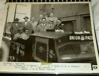 Vintage Old Photos Book Union Pacific Railroad Traffic Manager KBTV Denver Train