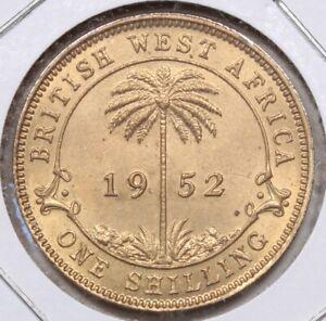 1952 BU British West Africa One Shilling 305I