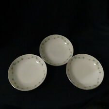 """Meito Fine China Renee pattern 3917 set of 3 small bowls 5 and 7/8"""" wide Japan"""