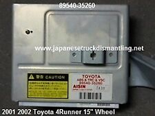 2001 2002 Toyota 4Runner Abs Control Trc Vsc 89540-35260 , 8954035260