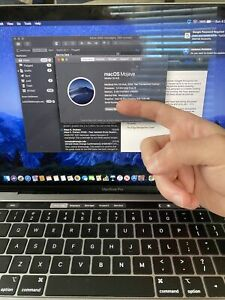 macbook pro 2019 touch bar 13inch