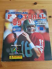 Panini American Football '89 Sticker Album