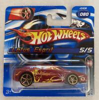 2006 Hotwheels Lotus Esprit Turbo Red! Very Rare! Mint! MOC!