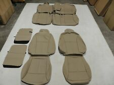 Leather Seat Covers Interior Replacement Fits Ford Edge Se Sel 2013-2014 X23