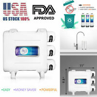 3+1 Stage CTO Filtration QU3 Drinking Water Filter System Under Sink Drinking