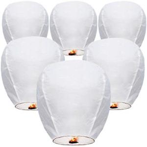 Chinese Lanterns Paper Lanterns 10-Pcs 100% Biodegradable Environmentally for &