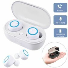 Mini Bluetooth Wireless Earphones Sport Invisible Headset TWS For iOS Android