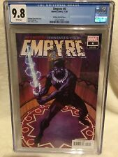 $$ Empyre #6 CGC 9.8 1:50 Mike McKone Black Panther Variant $$