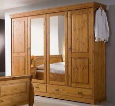 Kleiderschränke im Landhaus-Stil aus Massivholz mit 4 Türen