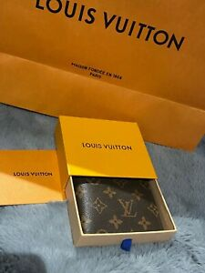 Louis Vuitton Monogram Wallet With Box RRP £320