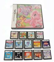 Nintendo DS Games lot of 15 Bolt Michael Jackson Pinkie Pies Party & more