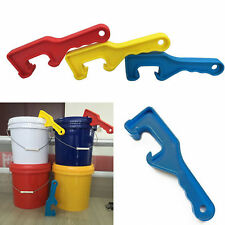 ABS Plastic Gallon Bucket Pail Paint Can Lid Opener Opening Tool For Home Office