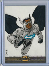 Black Batman: The Legend 2013 Cryptozoic Dc Sketch Card Eric Van Elslande 1/1