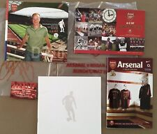 More details for arsenal first and last wigan highbury ajax emirates with extras and official bag