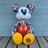 Mickey Mouse Memories Plush 2018 Disney Store March Limited Release 30s NWT Flaw