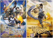 Avatar: The Legend Of Korra (Season 2 + 3) Chapter 1- 27 END DVD English Version