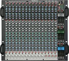 New Crest Audio X-20RM Professional Monitor Console, 12 Mono + 4 Stereo Inputs