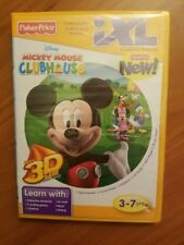 Fisher Price IXL Mickey Mouse Clubhouse 3D Game Brand New Factory Sealed