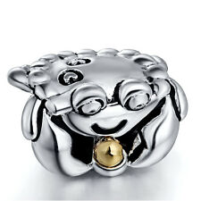 European Silver Charms Frog Bead For Sterling 925 Bracelet Bangle Necklace